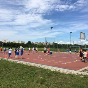 Miky Mian Summer Basketball Camp 2017